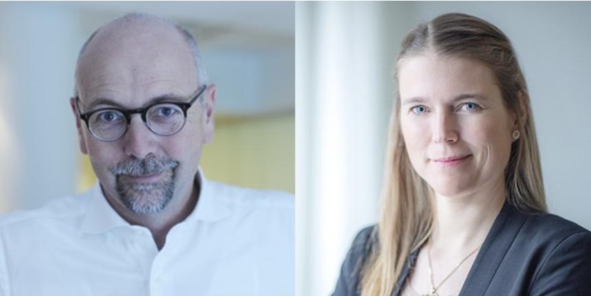 Magnus Höij och Helena Dahlberg