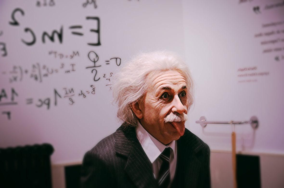 Albert Einstein. Raghav Modi, Unsplash.