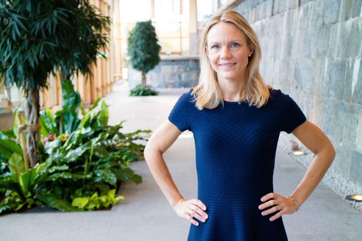 Maria Brogren, Innovations- och hållbarhetschef, WSP.