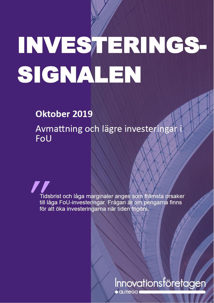 Investeringssignalen oktober 2019