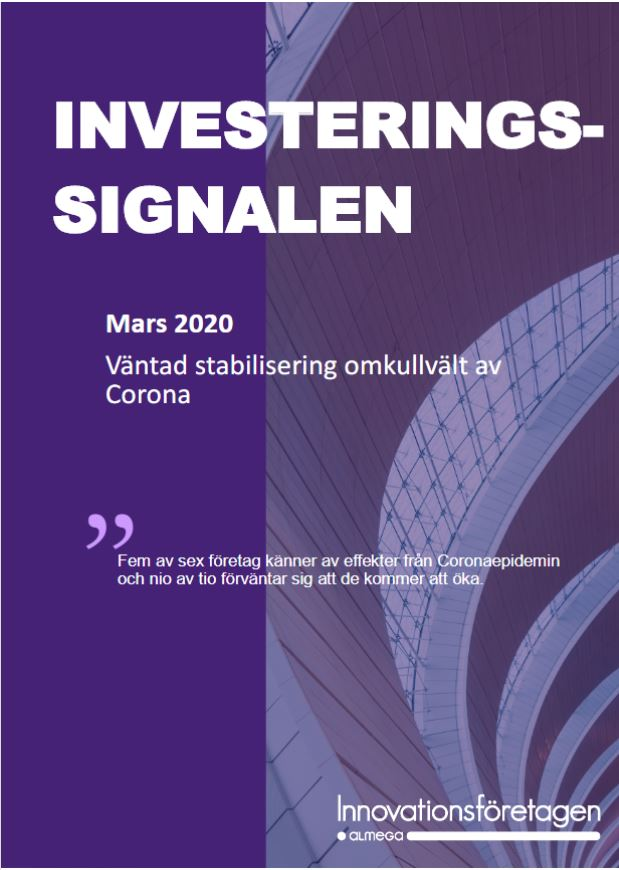 Investeringssignalen mars 2020