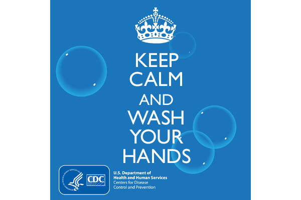 Keep calm and wash hands