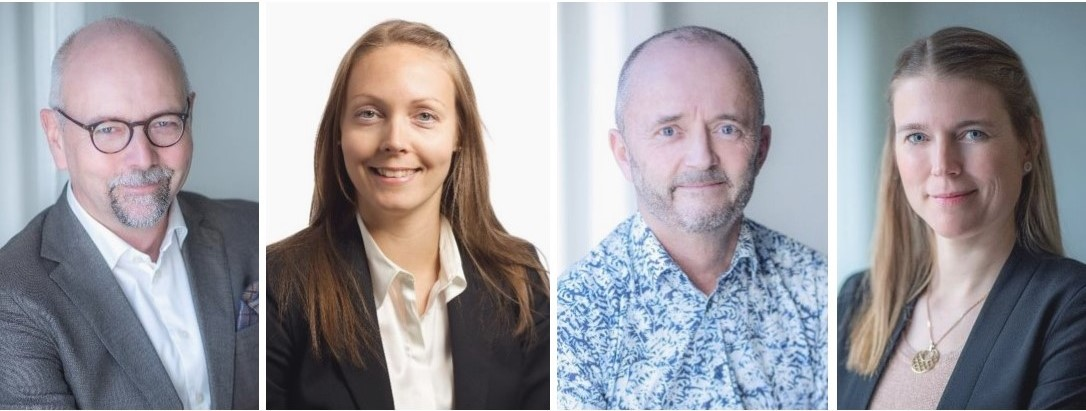Magnus Höij, Hanna Byström, Anders Persson, Helena Dahlberg, Innovationsföretagen.