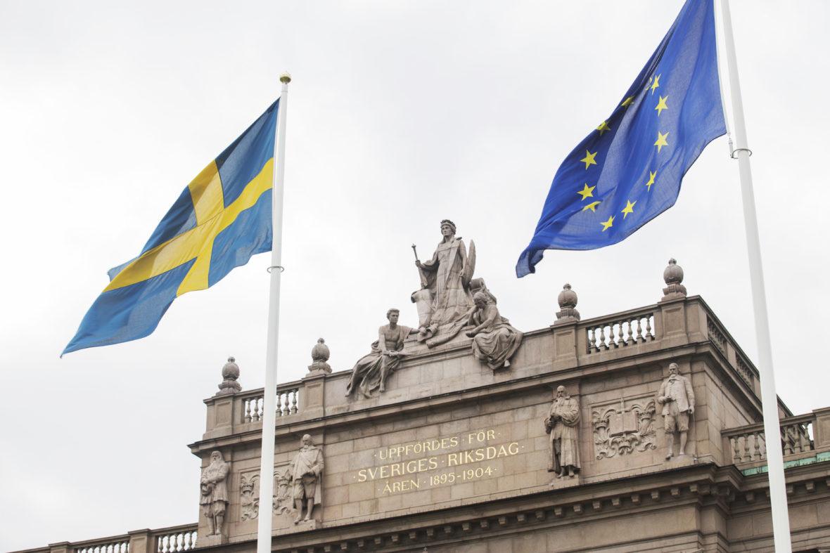 Östra riksdagshuset. Foto: Melker Dahlstrand, Sveriges Riksdag.