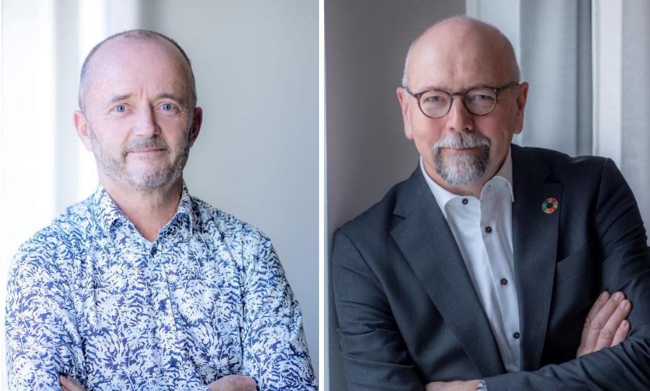 Anders Persson och Magnus Höij. Foto: Innovationsföretagen, Almega.